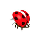 Insect Doctor Arcade Machine, Lady Beetle, Arcooda