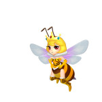 Insect Doctor Arcade Machine, Queen Bee Bug, Arcooda