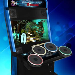 Xtreme Game Wizard Arcade Machine, Arcooda, Drum Control Panel