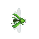 Insect Doctor Arcade Machine, Green Flying Bug, Arcooda