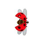 Insect Doctor Arcade Machine, Lady Beetle Bug, Arcooda