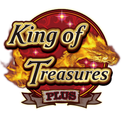 King of Treasures Plus Arcade Machines, Logo, Video Redemption, Fish Hunting Arcade Game,