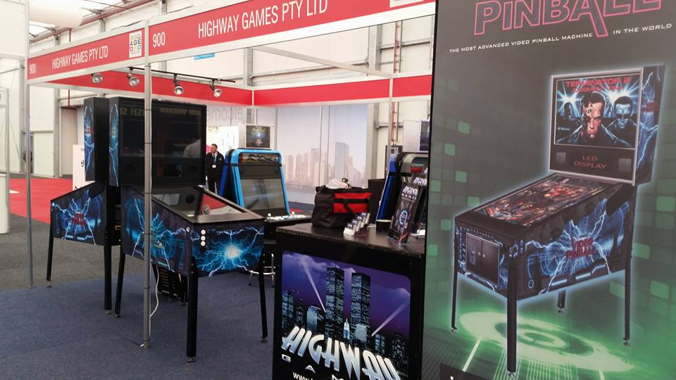 Highway Games, Booth, Australasian Gaming Expo Sydney Show