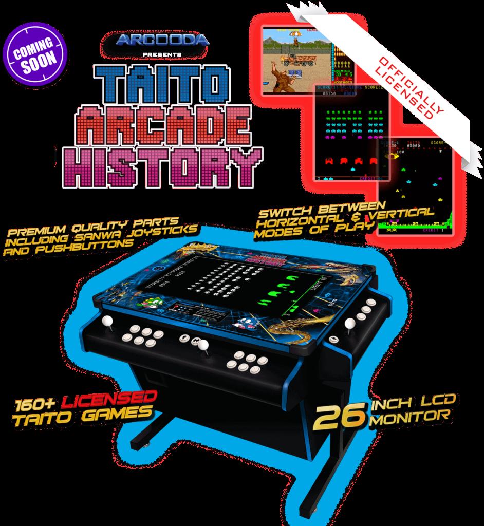 Taito Arcade History