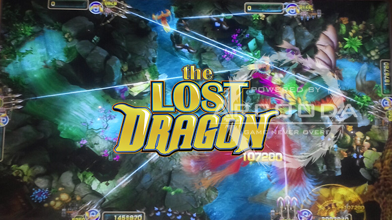 Lost Dragon Title Screen