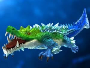 Ocean King 3 : Monster Awaken - Ancient Crocodile Power Up