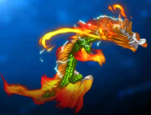 Ocean King 3 : Monster Awaken - Flaming Dragon Power Up