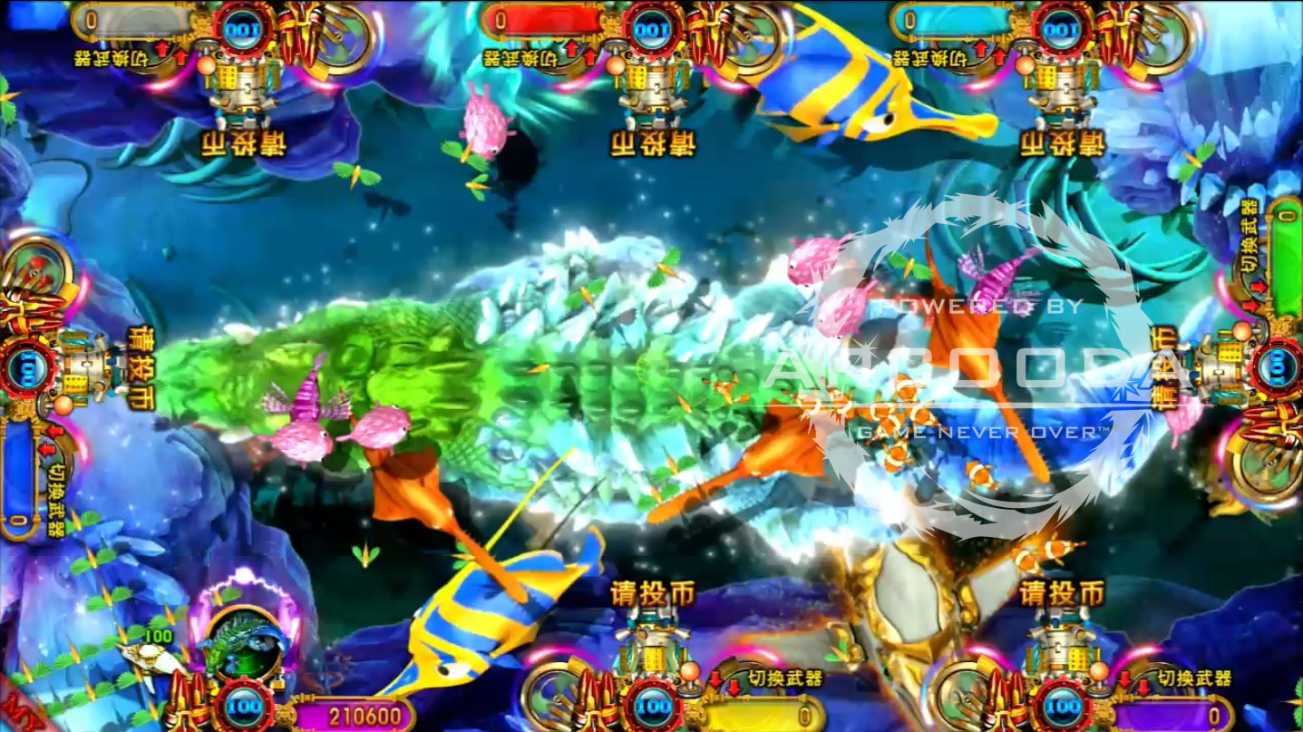 Ocean King 3 : Dragon Power - Ancient Crocodile Power Up