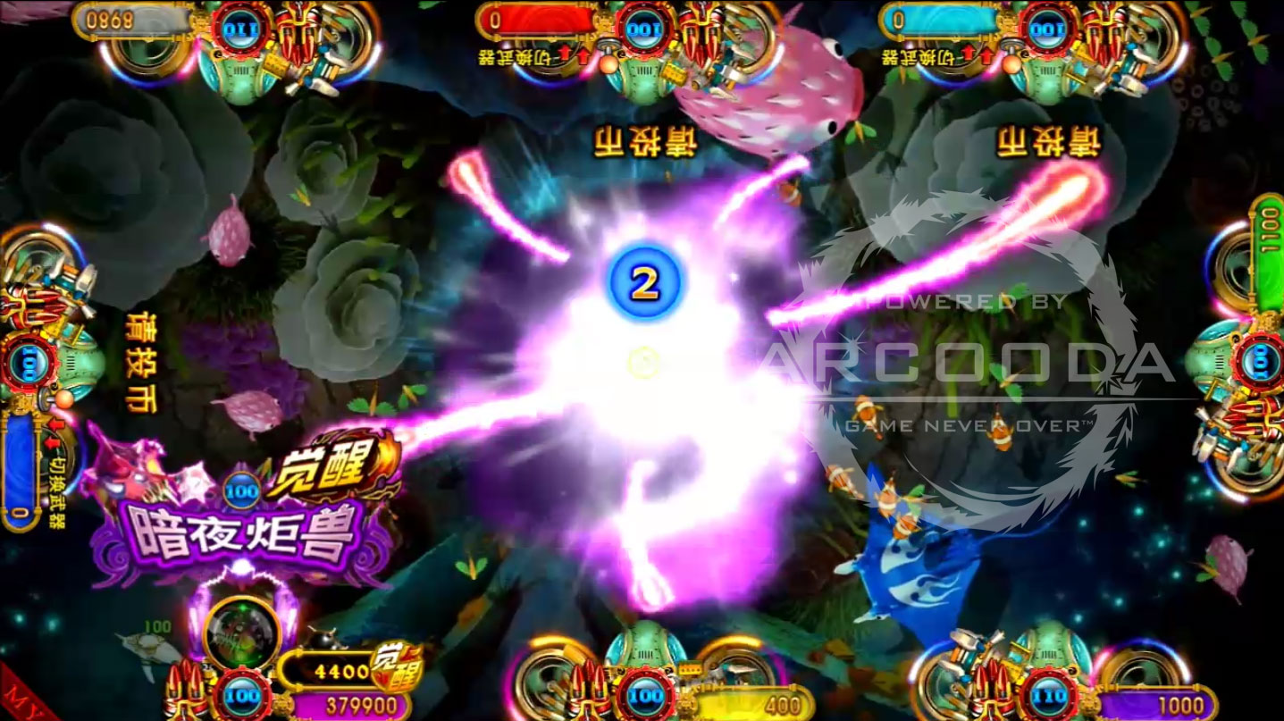 Ocean King 3 : Turtles Revenge - Darkness Monster Power Up