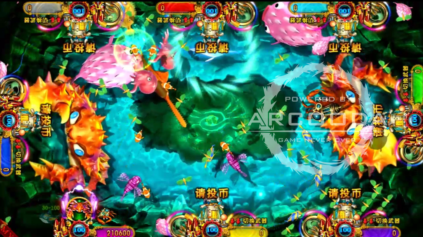 Ocean King 3 : Dragon Power - Emperor Crab Power Up