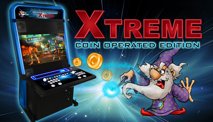 Xtreme, Game Wizard, Arcade Machine, Coin Operated, Featured Banner, Arcooda