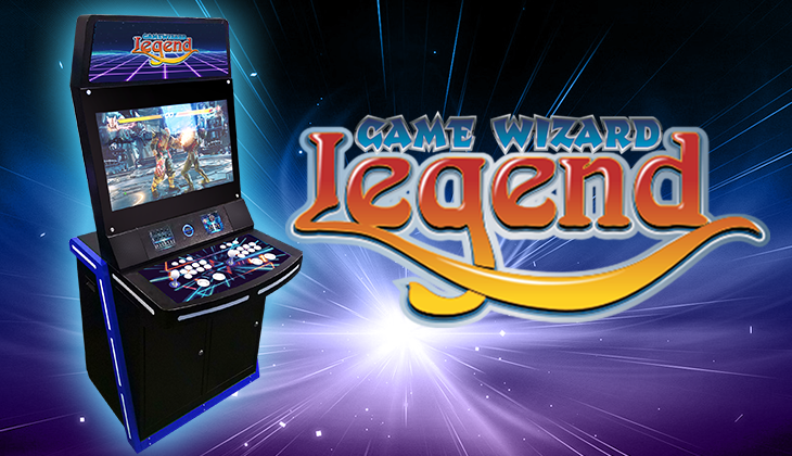 Legend, Game Wizard, Arcade Machine, Featured Banner, Arcooda
