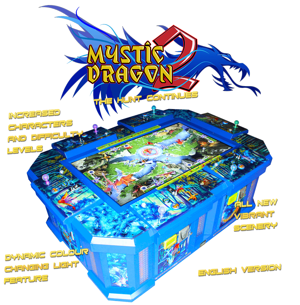 Mystic Dragon 2 - 6 player