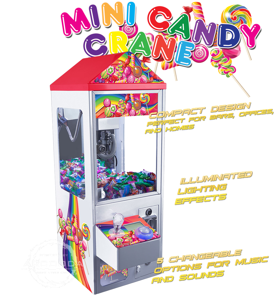 Mini Candy Crane Machine