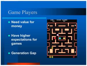 2005 Slide - Game Players