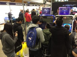 Game Wizard Xtreme Machines at Trade Show