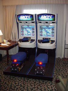 Arctic Thunder Arcade Cabinet
