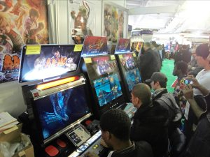 Tekken and Street Fighter Machines